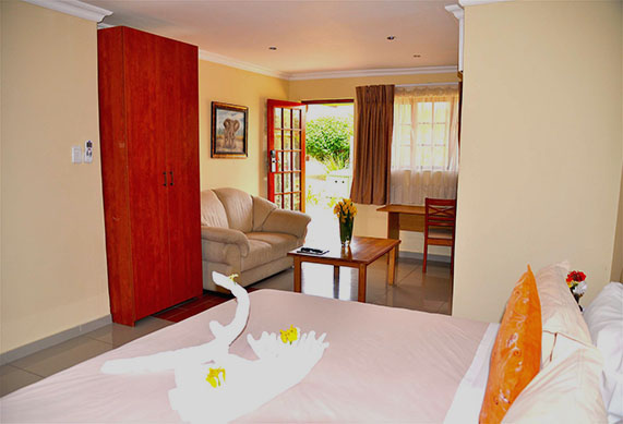 accommodation in midrand hotel room