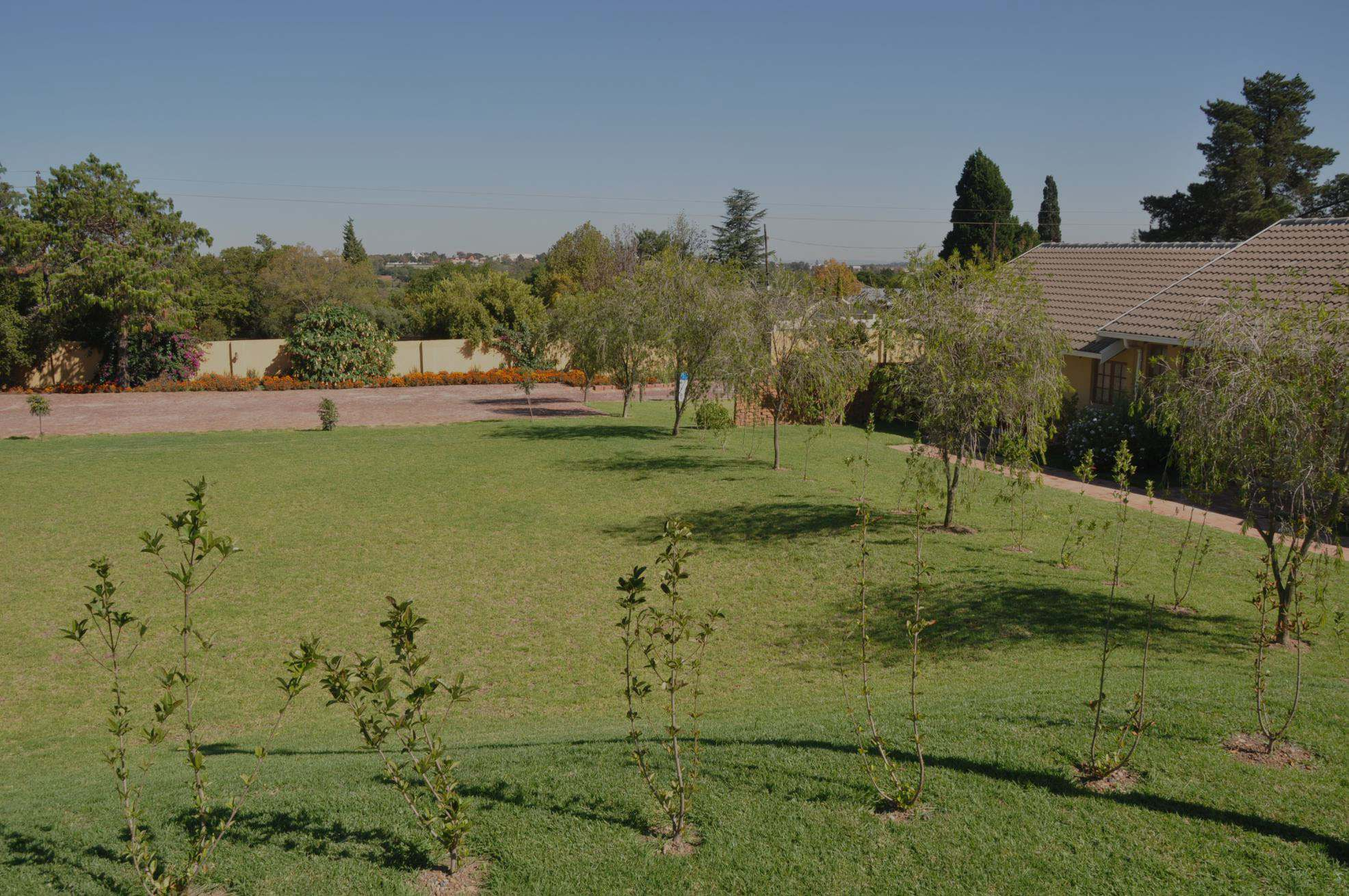 lawns at natural getaways boutique hotel in midrand