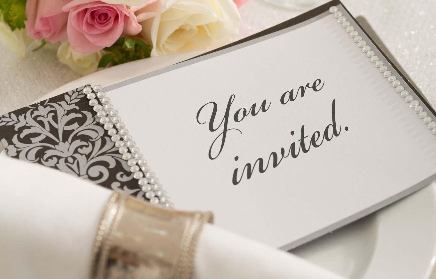 wedding invitation from wedding venue in midrand